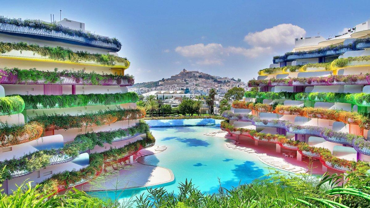 Edificio Boas Marina Botafoch Ibiza