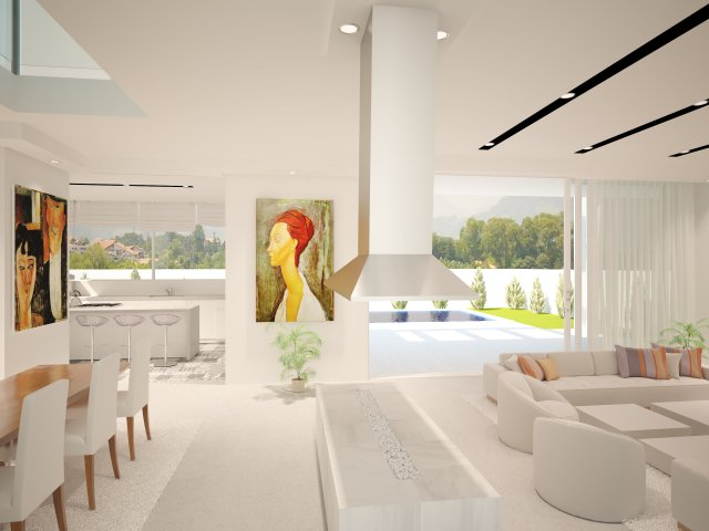Proyecto Villa Unifamiliar Nueva Andalucia