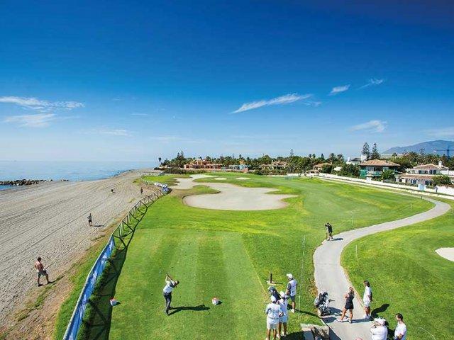 Guadalmina Baja,  Frontline Golf 4 Bedrooms Townhouse