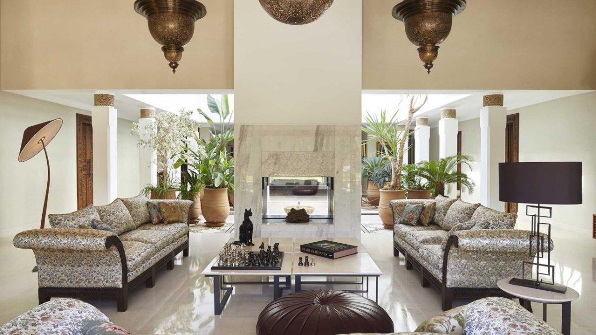 Marrakesh, Villa 6 Dormitorios Gran Lujo Four Seasons Resort.