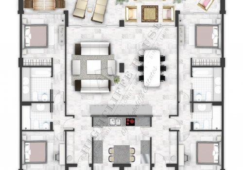 Marina Mariola Marbella, Apartamento 4 Dormitorios Sur