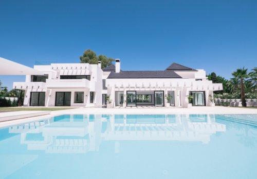 Guadalmina Baja Villa Gran Lujo Terreno 3.200 m2
