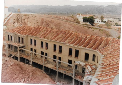 La Alcazaba under construction